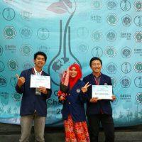 Juara 1 Karya Tulis Green Chemistry 2017 di Kampus UNPAD,  Bandung