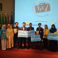 Tiga Juara Pertama Lomba Karya Tulis Ilmiah (LKTI) Tingkat Nasional oleh Mahasiswa FMIPA