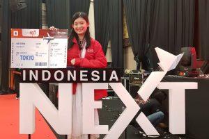 Vivi Yunika Peringkat 3 IndonesiaNEXT2018