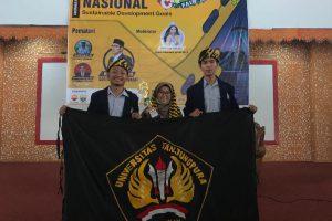 Prestasi Untan : Mahasiswa Teknik Kimia (HMTK) Untan Raih Juara 2 Lomba Karya Tulis Tingkat Nasional di Cheminer Fair 2019