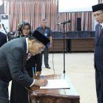 Dr. Ir. Burhanuddin, MP Dilantik Sebagai Wakil Dekan Bidang Akademik Fahutan Untan