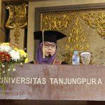 Prof Yuliati Indrayani Dikukuhkan Sebagai Guru Besar Fakultas Kehutanan Untan