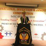 Ciptakan Alat Deteksi Pencurian Helm, Mahasiswa Teknik Sipil FT Untan Raih Gold Award InIIC 2019 di Malaysia
