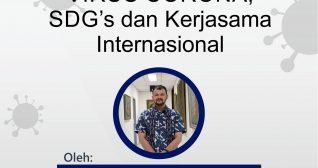 Corona Virus, SDG's dan Kerjasama Internasional