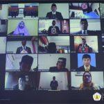Rektor Untan Lantik Beberapa Pejabat Via Daring