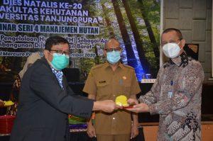Dies Natalis Ke- 20, Fahutan Untan Gelar Webinar Nasional Manajemen Hutan dan Sosial Ekonomi