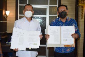 UNTAN dan PT Bank BRI Syariah Cabang Pontianak Teken Kerjasama (3)