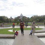 Saat Pandemi Virus Corona, Taman UNTAN Justru Ramai Dikunjungi