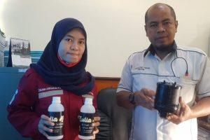 Mahasiswi Untan, Zuliah Anggraini Hidupkan Listrik Gunakan Limbah Air Asam Tambang