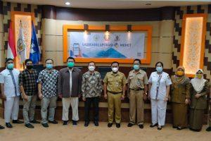 Tim PKM Departemen Kedokteran Komunitas FK UNTAN Launching Aplikasi MEPET